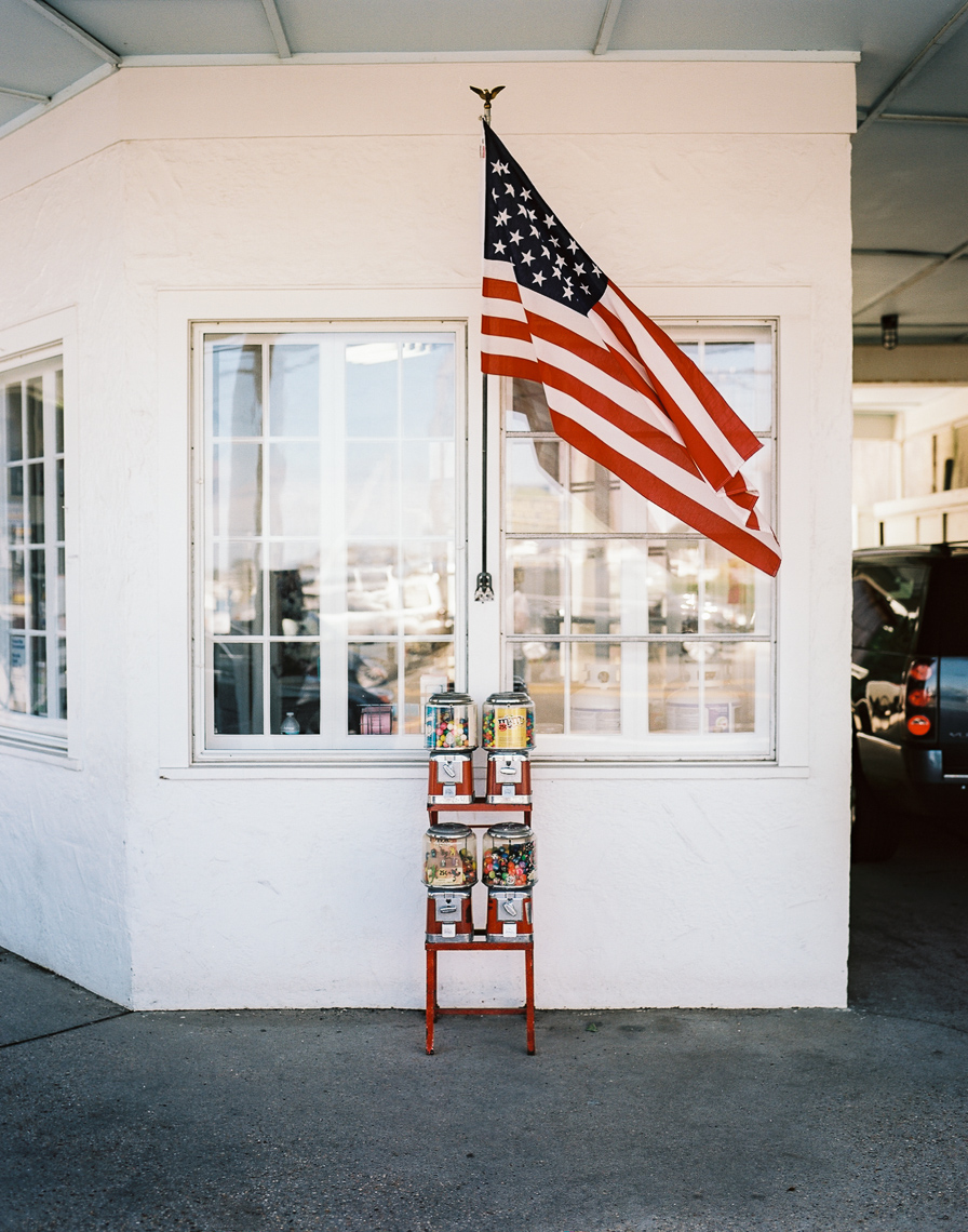 American Flag Storefront