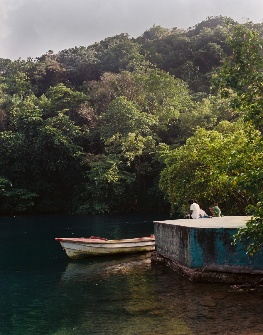 Boat and Lake Jamaica