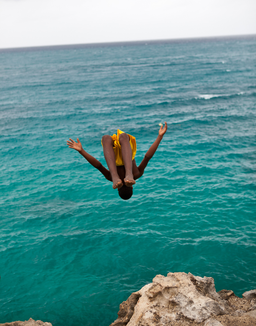 Backflip Cliff Dive Jamaica
