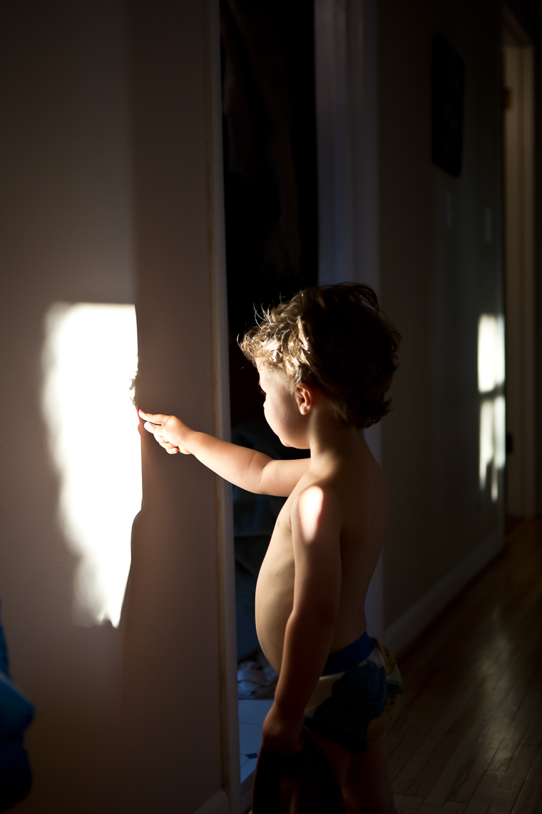 Boy with Light