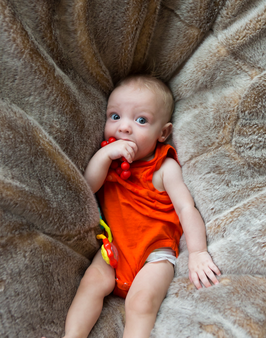 Baby in a Beanbag