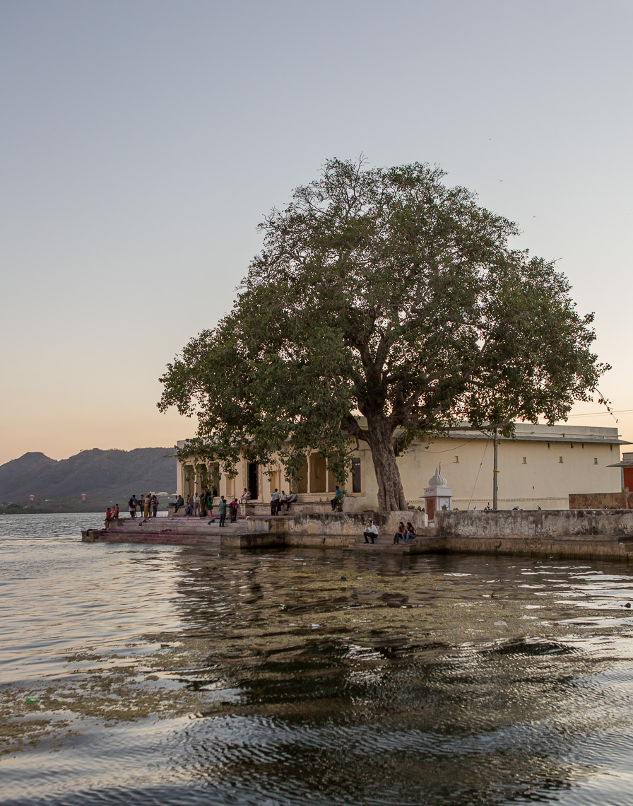 Sunset on Lake Udaipur